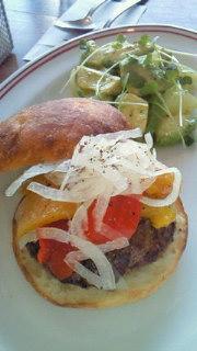 苦楽園のハンバーガー